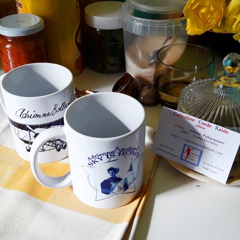 AB et G3 deux mugs cuisine