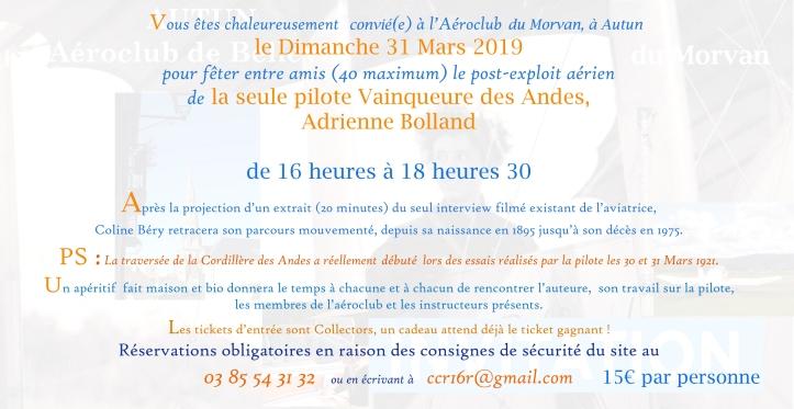 Adrienne Bolland 31 mars 19 Autun