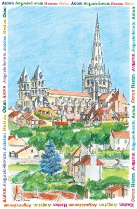 cathédrale depuis fbg Talus