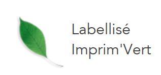 label imprim vert